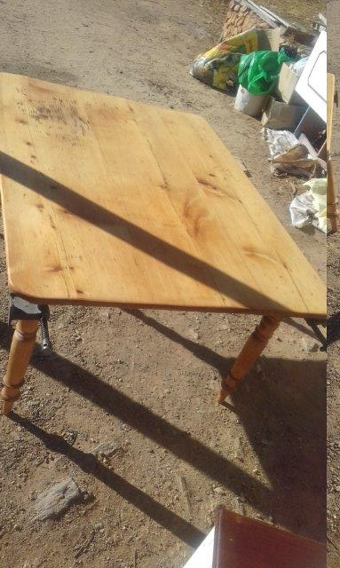 renovated table